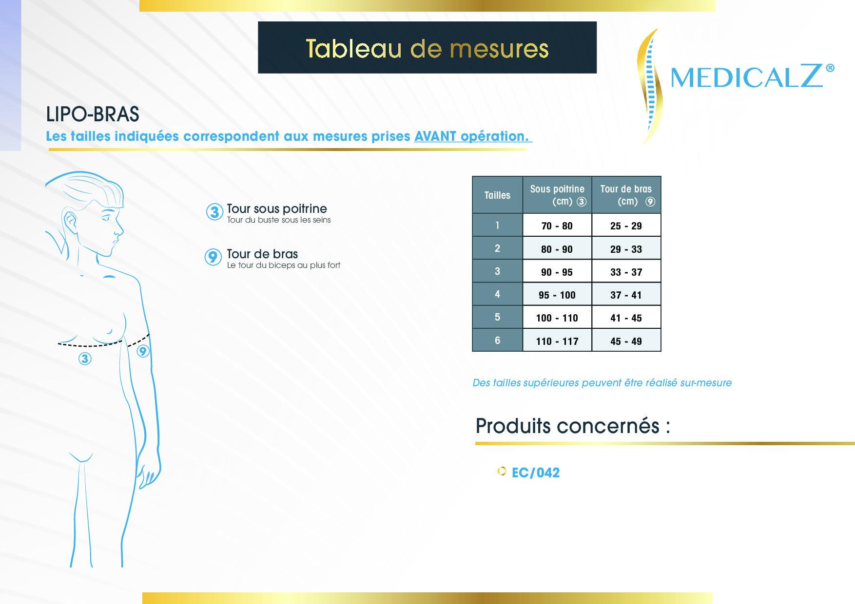 Lipo-bras Medical Z